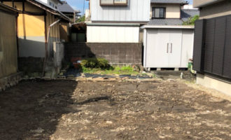 河合総合 中津川市の解体工事